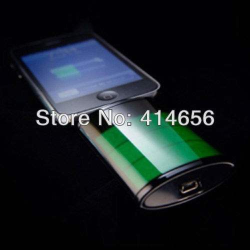 1900mAh The Icon External Battery For iPhone 4 4S &iPod Iconic Backup Battery