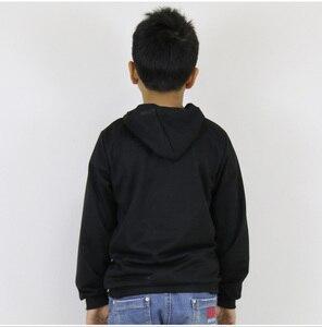 Image 4 - Uzumaki Naruto imprimé enfants vêtements lumineux costume garçons filles coton sweat à capuche Harem pantalon décontracté Jogging costume