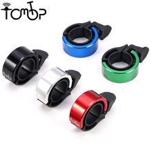 ZK30 Mini Aluminum Alloy Bike Handlebar Bicycle Bell Loud Road Bike Handlebar Ring Bells Cycling Alarm Horn Sound Accessories(China)