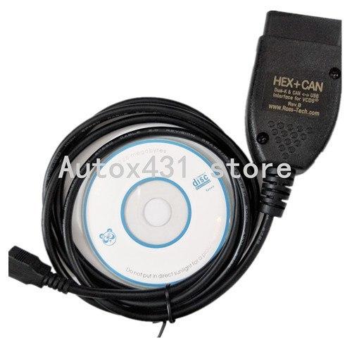 Best Quality VCDS VAG COM 17.1.3 VAGCOM 17.1 HEX CAN USB Interface FOR VW AUDI Skoda Seat VAG 17.8 PortugueseEnglish