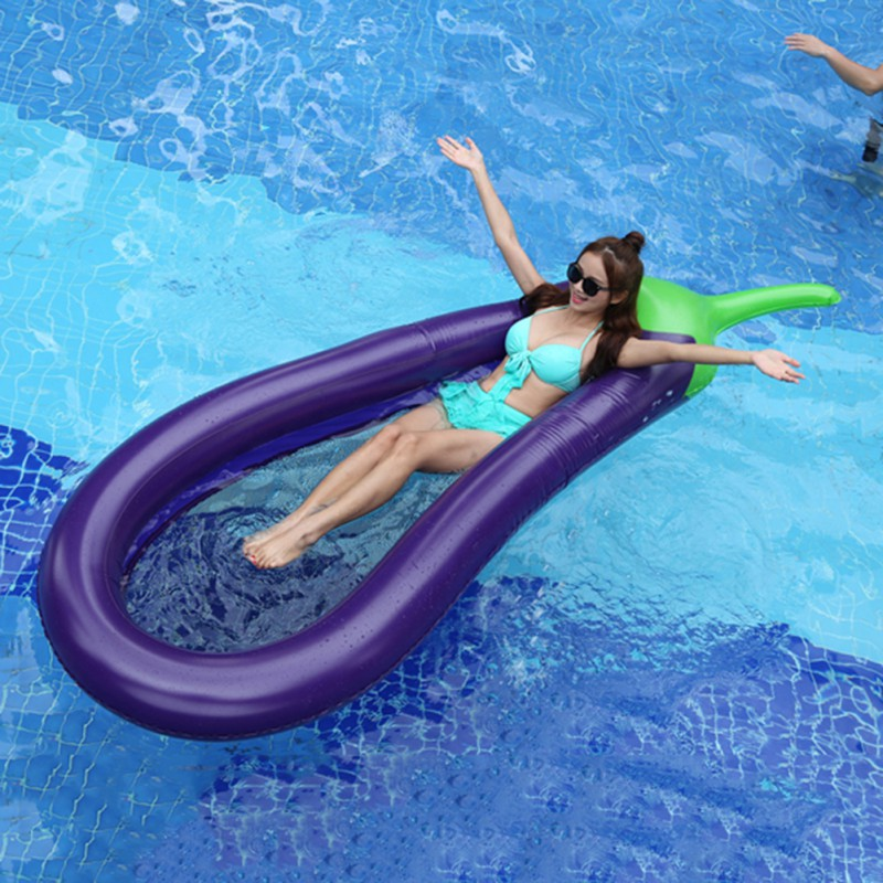 Inflatable Swim Ring Large Outdoor Pool Accessories Cartoon Cute Inflatable Toy Swim Ring Inflatable Water Row