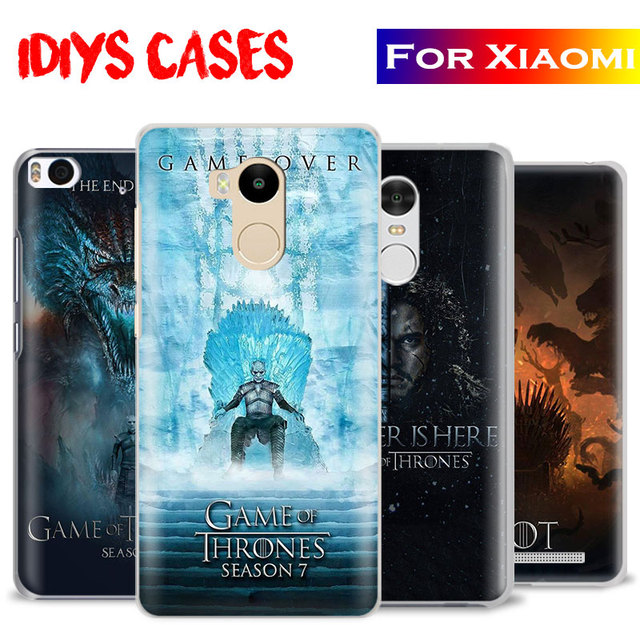 on sale 918fa 29364 US $2.8 |Game of Thrones Season 7 Phone Case Shell Cover For Xiaomi Redmi  Note 2 3 4 4X 5A 5 6 6A Pro Mi 4 5 5S Plus 5X 6 8 A1 note 2 3-in ...
