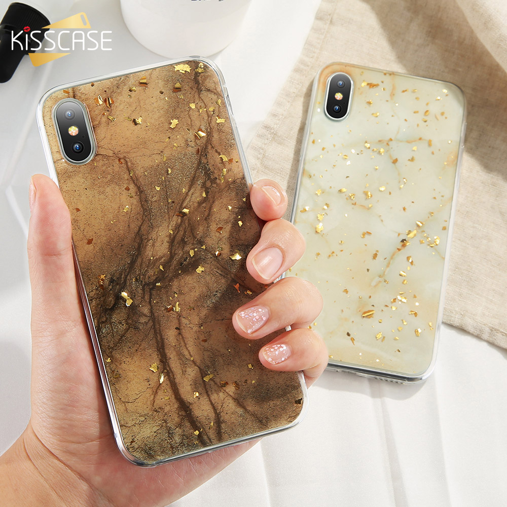 Handys & Telekommunikation Kisscase Luxus Gold Folie Bling Telefon Fall Für Iphone 7 8 7 Plus Ultra Weiche Tpu Fall Für Iphone X Xr Xs Max Xr 6 S 6 Plus 5 5s Capa Handytaschen & -hüllen