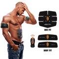 4 en 1 de la aptitud que adelgaza escultor cuerpo sauna calefacción ab cinturón masajeador GIMNASIO ab gymnic músculo abdominal ejercitador cinturones de grasa quemador