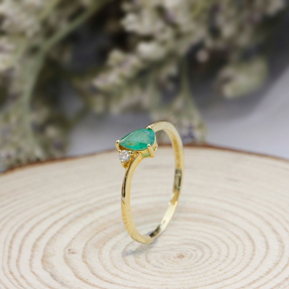 Large Of Minimalist Engagement Rings