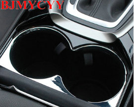 BJMYCYY free shipping Auto abs glass frame Chromium Styling for new ford mondeo 2013