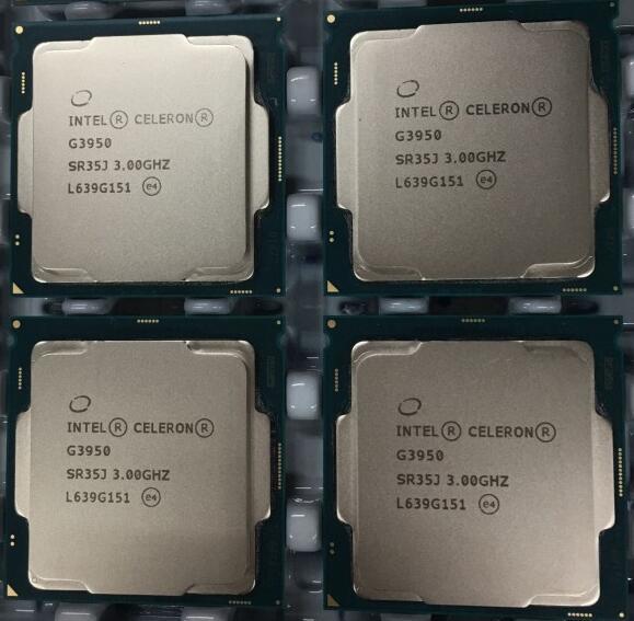 Новый оригинальный Intel 7-й поколения Pentium G3950 CPU 3.0 ГГц integrated HD610 видеокарта