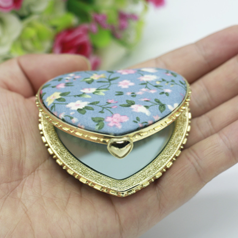 TI71 Portable Makeup Mirror Small Round Mirror Custom