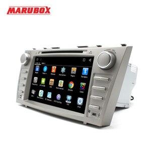 Image 4 - Marubox 8A101DT8 Máy Nghe Nhạc Đa Phương Tiện Cho Xe Toyota Camry 2006 2011, RAM 2 GB, 32G, android 8.1, 8 , 1024*600, GPS DVD, Vô Tuyến Wifi