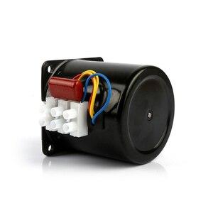 Image 5 - 220V AC 14 ワットマイクロギアモーター 60KTYZ 50Hz 永久磁石同期ギアモーター低速 2.5 5 10 15 20 30 50 60 80 110 rpm