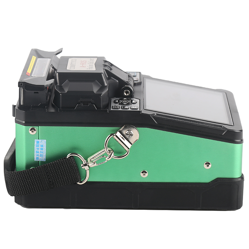 Image 2 - A 81S 2018 New product FTTH Fiber Optic Welding Splicing Machine Optical Fiber Fusion Splicer-in Fiber Optic Equipments from Cellphones & Telecommunications