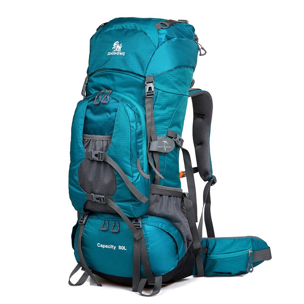 80L sac à dos extérieur Camping sac étanche alpinisme randonnée tactique sacs à dos Molle 3 P sac de Sport escalade sac à dos
