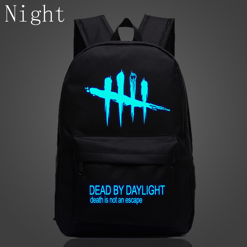 New Arrival Luminous Backpacks Dead By Daylight Bags For Teenage Boys Girls School Backpacks Travel Bookbags Children Mochila children school bag minecraft cartoon backpack pupils printing school bags hot game backpacks for boys and girls mochila escolar