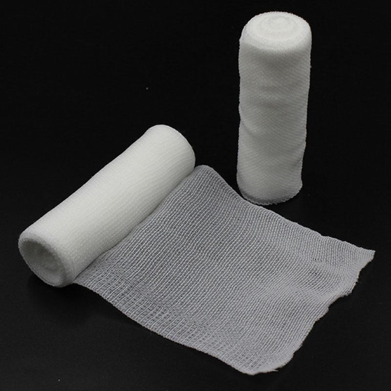 10 Pcs/lot Emergency Supplies PBT Elastic Bandage Home Family First Aid Wound Sports Nursing Medical Emergency Care Bandage