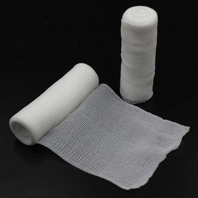 10 Pcs/lot Emergency Supplies PBT Elastic Bandage Home Family First Aid Wound Sports Nursing Medical Emergency Care Bandage