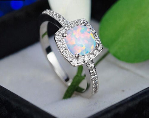 b15f1327e62ec Oval Opal Stone Ring Black Gold Color Rings Fashion Jewelry For Women and  Man Party Gift Wholesale Anillos Mujer