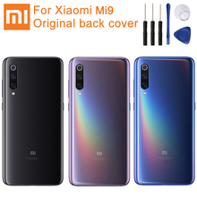 Original Glass Battery Rear Case For Xiaomi 9 MI9 M9 MI 9 Back Battery Cover Phone Battery Backshell Back Cover Cases with Tool