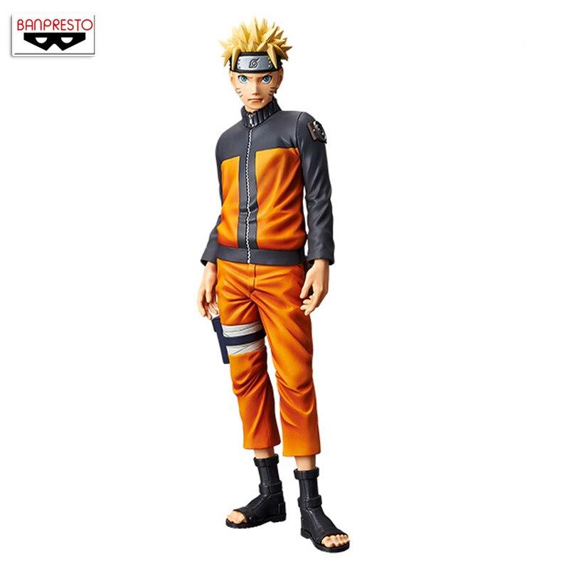 100 Original Banpresto Grandista Shinobi Relations Collection Figure Uzumaki Naruto from NARUTO Shippuden