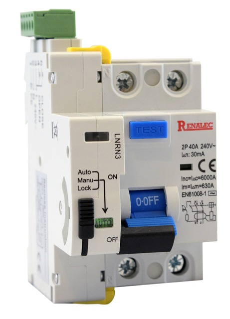 auto recloser with rccb lnrn3 ac type 6ka reclosing device inauto recloser with rccb lnrn3 ac type 6ka reclosing device