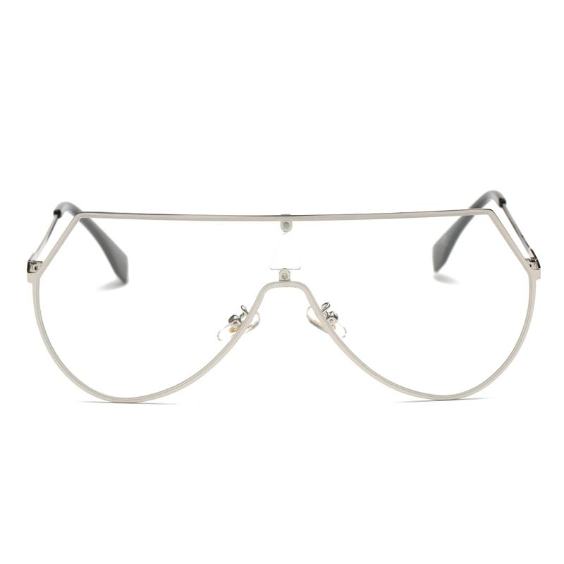 Fashion Oversized Women Oval Eyeglass Brand Designer Frames Print ...