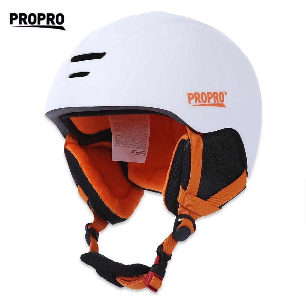 Casque de Ski PROPRO casque de Snowboard moulé intégralement hommes femmes casque de Ski skate Skateboard