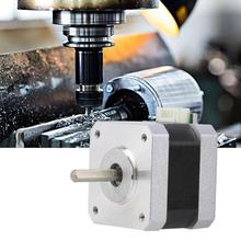 42BYG-34015-22B DC4.0V 1.2A 2 Phase Stepper Motor 1.8° Bipolar Stepper Motor for CNC 3D Printer 34mm Height nema17 0 9 degree 42mm two phase hybrid stepper motor 1 33a 34mm for cnc best price