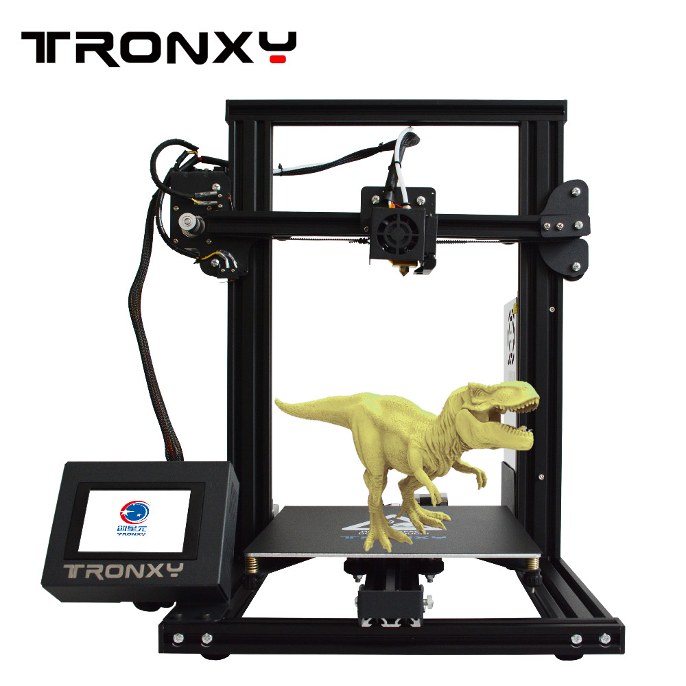 Tronxy XY-2 Fast Assembly Full metal 3D Printer 220*220*260mm High printing Magnetic Heat Paper 3.5 Inches Touch Screen XY 2 image