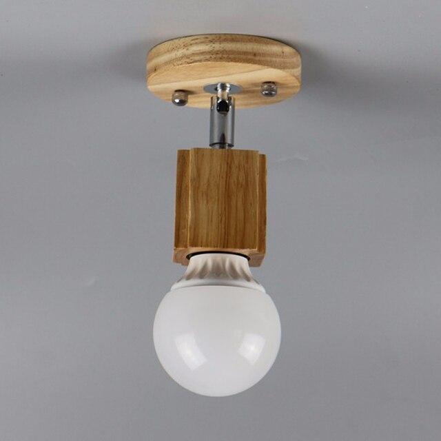 Moder houten plafond lampenlichten home verlichting