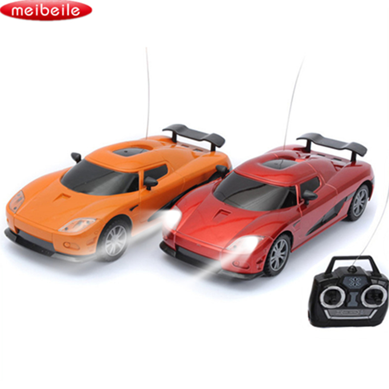 RC Car Remote Control Toy Car Speed Radio-controlled Cars Toys For Boys Electric Car for Children Kids Juguetes Light RC Carro