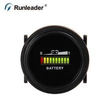 Runleader BI002 12 В 24 В 36 В 48 В 72 В емкость батареи Измеритель Напряжения автомобиль гольф багги внедорожник