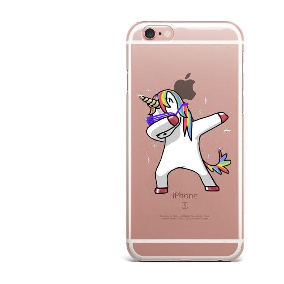 brand new 328b5 c60c6 US $1.21 39% OFF|LOVINA CASES For iPhone 7 7Plus 5s SE 6 6s Plus Phone Case  Dabbing Unicorn Dab Hard Cases Back Cover Coque For iPhone 8 8Plus-in ...