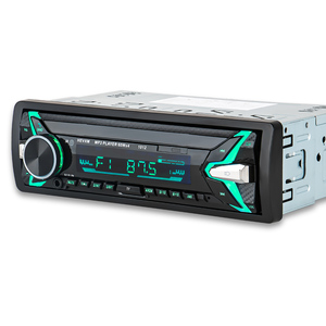 Image 2 - HEVXM 1012 12V 1 Din car MP3 playe  Car  Color Light MP3 Player  BT multi function MP3 player,