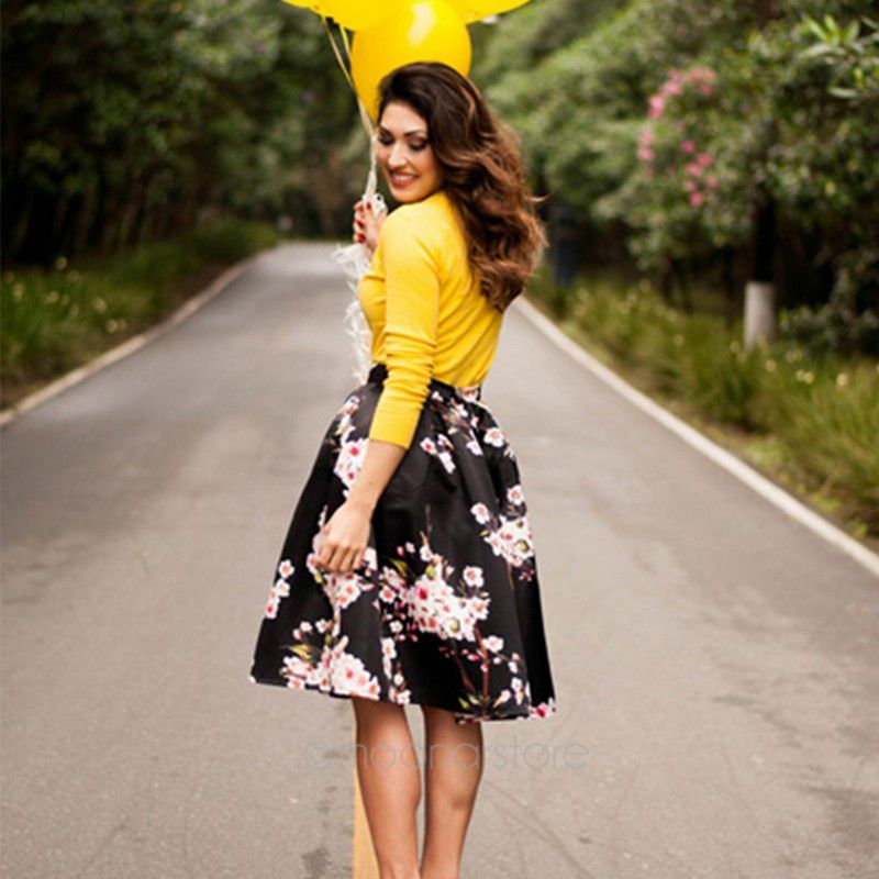 Compare Prices on Long Skater Skirt- Online Shopping/Buy Low Price ...
