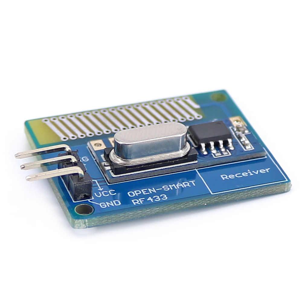 Kit émetteur-récepteur sans fil longue portée 433 MHz RF avec antenne Module récepteur émetteur grande puissance 433 MHz Kit LORA pour Arduino