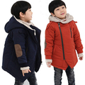 4-12Years  Boys Jacket Winter Outerwear Hooded Coats Big Boy Jackets Thick Parkas Warm Clothes Children Teenager Coats With Fur