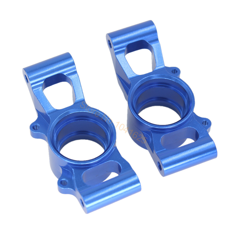 For Traxxas X-Maxx 4X4 Upgrade Parts Aluminum Rear Knuckle Arms Hub Carrier L/R 7752 Hop-up
