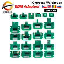BDM Probe Adapters for KTAG KESS V2 KTM for Dimsport 22pcs/set full package wors with LED BDM Frame ECU RAMP Adapters DHL free(China)