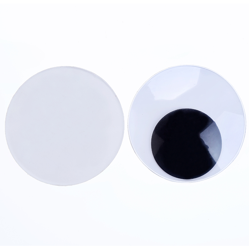 With Self adhesive 2PCS Very Large size 10CM Round Design Plastic Movable doll Eyes Googly Eyes
