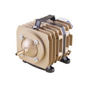 Image 3 - SUNSUN aquarium electromagnetic air compressor air pump is suitable for large aquarium pond aerator 220V With hose and gas stone