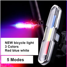 S7505C Mini LED Bicycle Light USB Rechargeable Bike LightCOB Tactical Lamp Cycling Taillight Lanterna With Battery High Powerful(China)