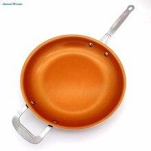 Sweettreats antihaft Kupfer Pfanne mit Keramikbeschichtung und Induktion kochen, Ofen & spülmaschinenfest 12 Zoll