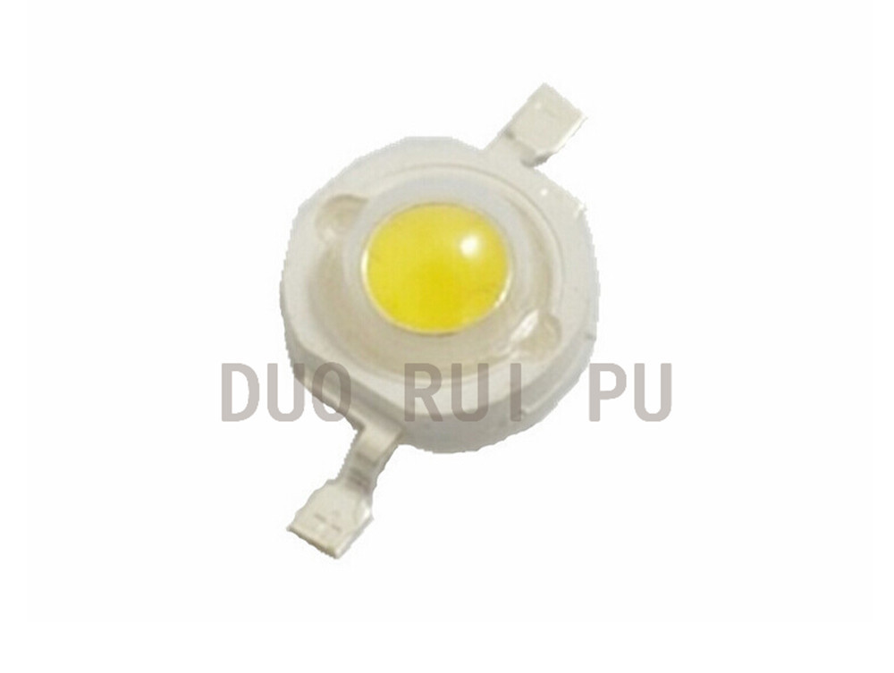 1W 0.5W High power LED lamp bulb Pure white/Warm White 3.2-3.4V 100-120LM 30mil Chip Free Shipping 1w led bulbs high power 1w led lamp pure white warm white 110 120lm 30mil taiwan genesis chip free shipping