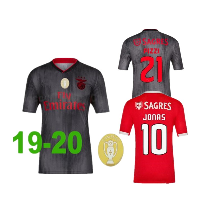 on sale 3c050 3fad7 Tops new 2019 2020 Benfica JONAS soccer jersey 19 20 HOME AWAY JOAO FELIX  RAFA Pizzi Salvio Raul Jimenez GRIMALDO football shirt