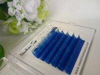 0 07 C Curl Colorful Mink Natural Eyelashes Extension Pro Individual Human Hair False Lashes Makeup