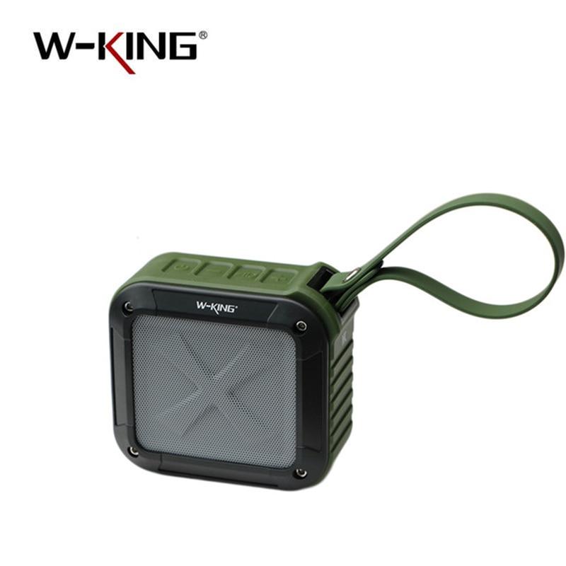 W- 킹 블루투스 스피커 방수 무선 휴대용 음악 스피커 라디오 박스 고품질 안티 방울 야외 M 확성기