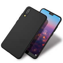 Cyato Slim Matte Soft Silicon Case For Huawei P20 Pro P9 P10 TPU Back Cover Lite Plus Phone Capa