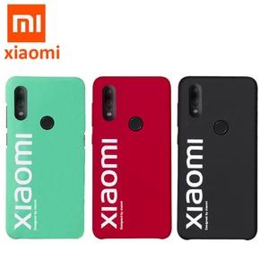 Image 1 - Original xiaomi Redmi note 7 case ultra thin matte back cover for Redmi Note7 pro street style case fashion cases