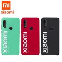 Originale xiaomi Redmi nota 7 caso ultra sottile opaca della copertura posteriore per Redmi Note7 pro street casi di caso di stile di modo