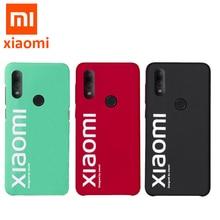 Originele xiaomi Redmi note 7 case ultra dunne matte back cover voor Redmi Note7 pro street style case fashion gevallen