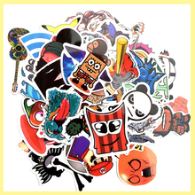 200 car styling funny cool sticker bomb waterproof graffiti Doodle sticker skateboard decal toy sticker hellaflush